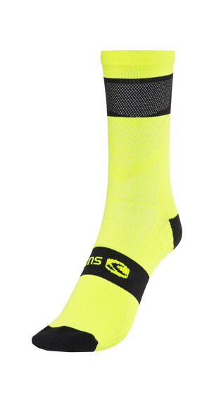 Sugoi RS Crew Sock Men super nova yellow